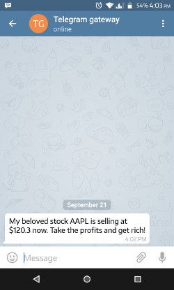 How to Send Yourself a Stock Price Alert via Telegram